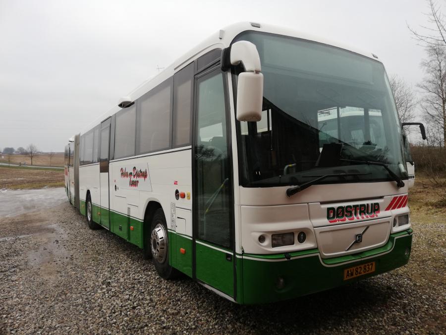 Døstrup Turistfart AW82837 i Døstrup den 24. januar 2019