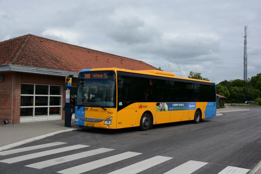 Umove 7653/AW78478 ved Helsinge Station den 20. juni 2017