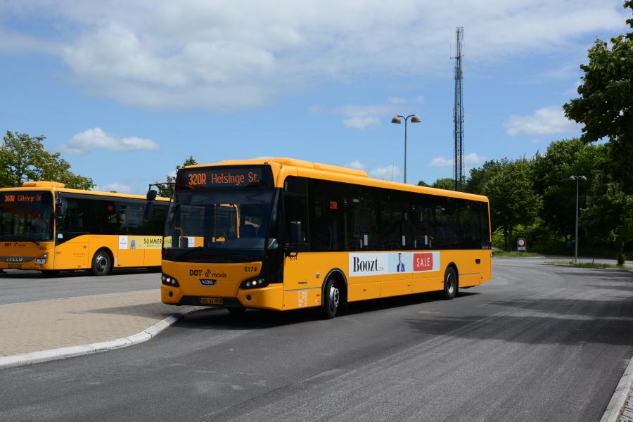 Nobina 6174/AS31958 ved Helsinge Station den 20. juni 2017