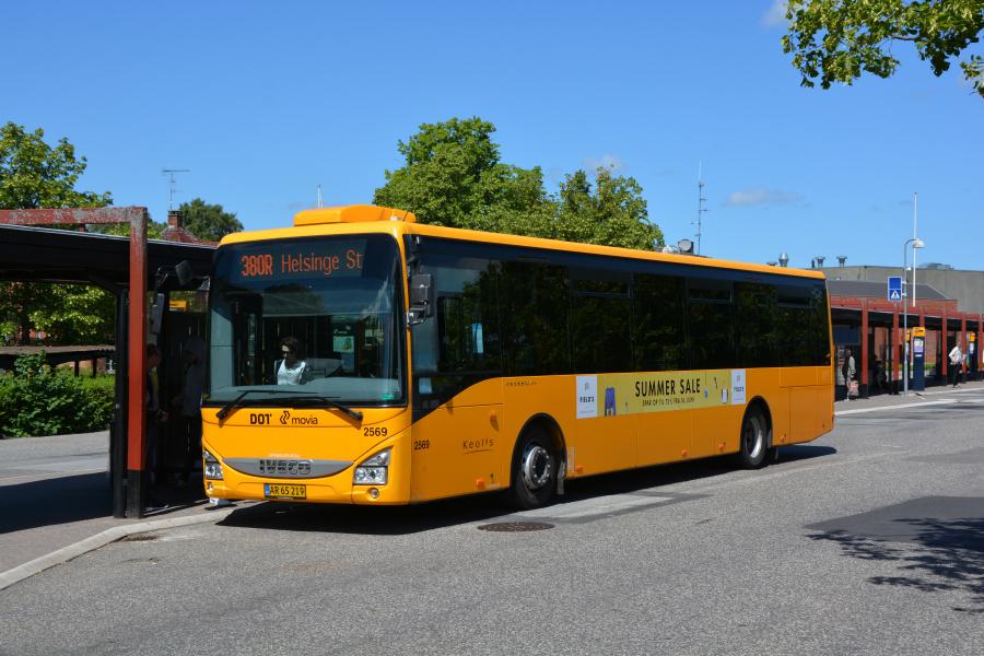 Keolis 2569/AR65219 på Hillerød Station den 20. juni 2017
