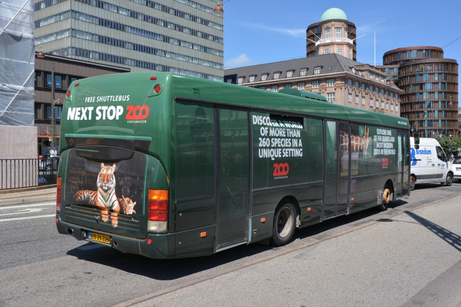 Red City Buses BB25226 på Vesterbrogade i København den 19. juni 2017