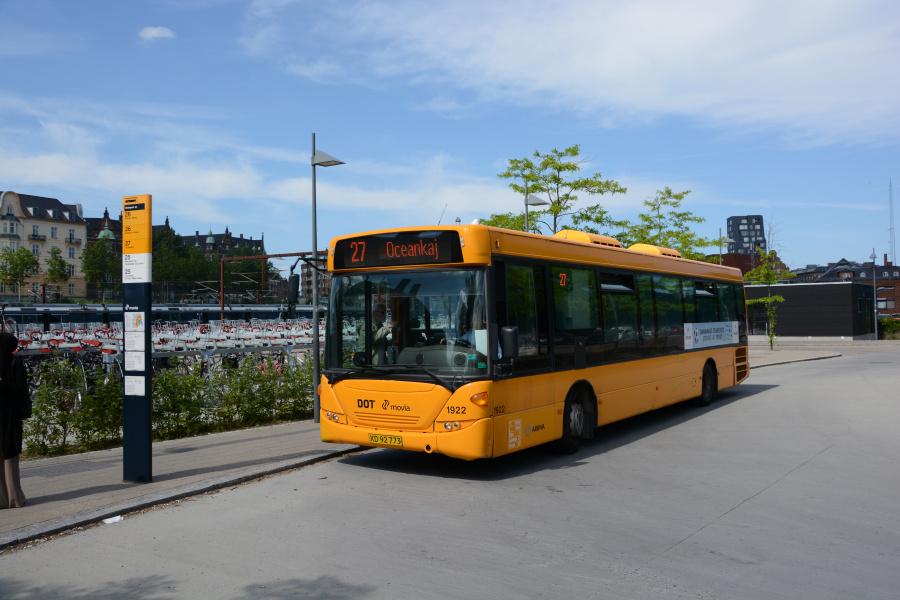 Arriva 1922/XD92773 ved Østerport Station den 19. juni 2017