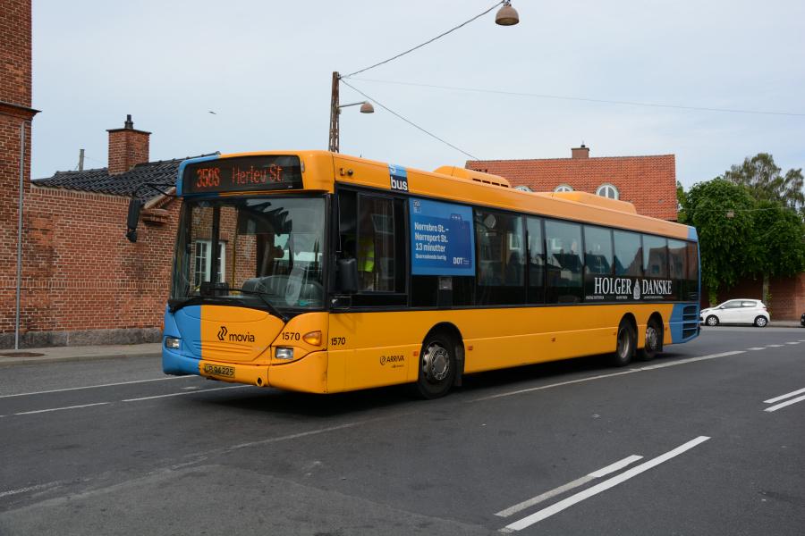 Arriva 1570/UB94225 på Dragør Stationsplads den 9. juni 2017