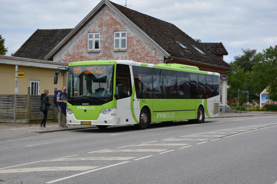 Tide Bus 8339/BC82458 i Korinth den 13. juli 2017