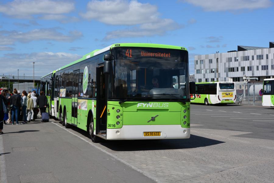 Keolis 3616/XS90633 i Odense den 13. juli 2017