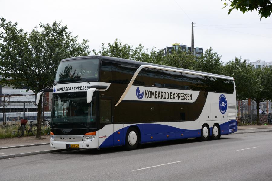 Brande Buslinier 6/BA96416 på Ingerslevsgade i København den 10. juli 2017
