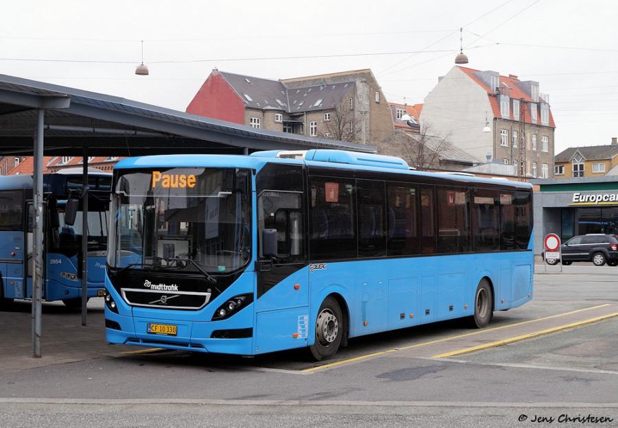 Todbjerg Busser 608/CF10330 ved Århus Rtb. den 2. marts 2019