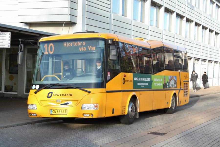 Tide Bus 8806/CW88863 i Haderslev den 30. december 2018