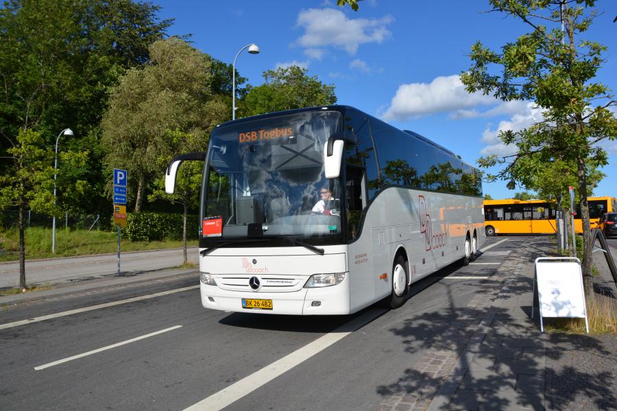 DD Coach DD3/BK26482 i Snekkersten Station den 4. juli 2017