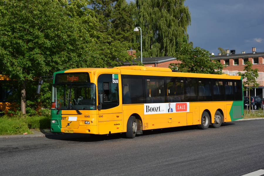 Nobina 6045/XC88255 i Rungsted Kyst St. den 4. juli 2017