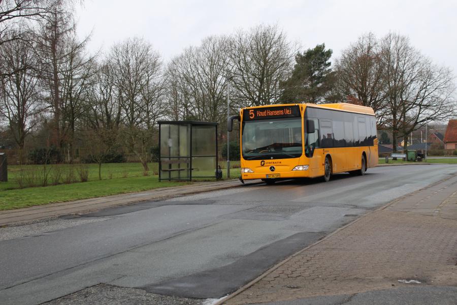 Tide Bus 8720/DF96189 på Bredevej i Seest ved Kolding den 30. januar 2019