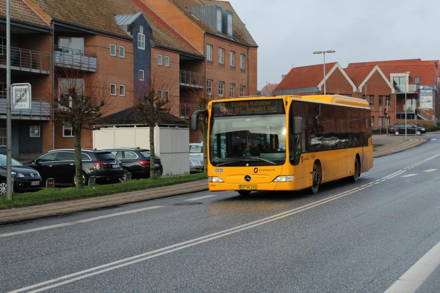 Tide Bus 8716/DF96146 på Buen i Kolding den 30. januar 2019