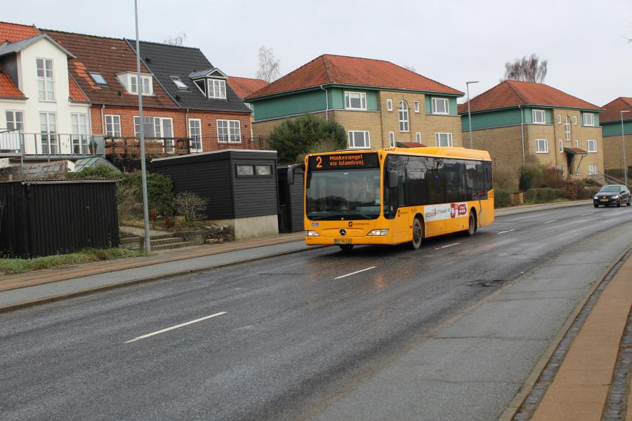 Tide Bus 8717/DF96126 på Ndr. Ringvej i Kolding den 30. januar 2019