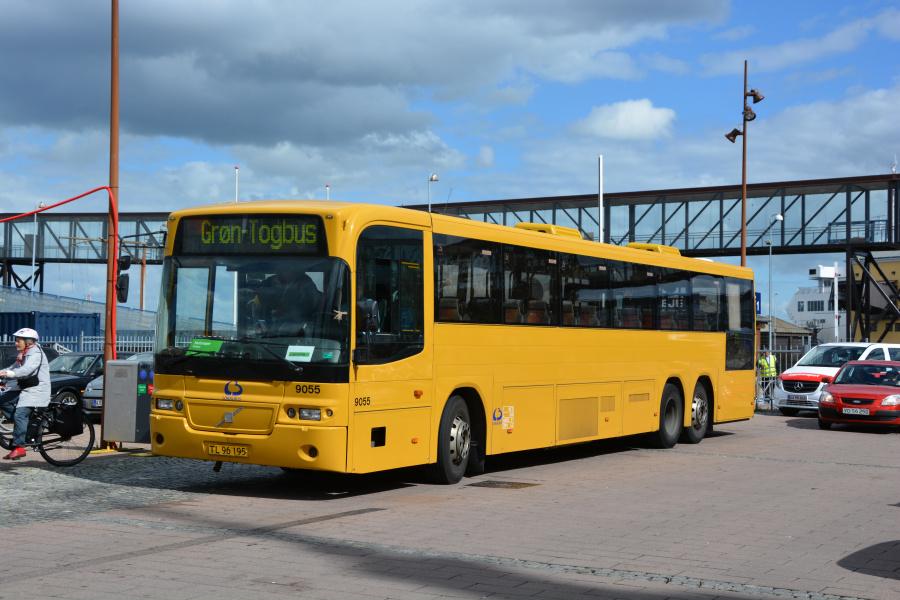 Lokalbus 9055/TL96195 i Helsingør den 26. juni 2017