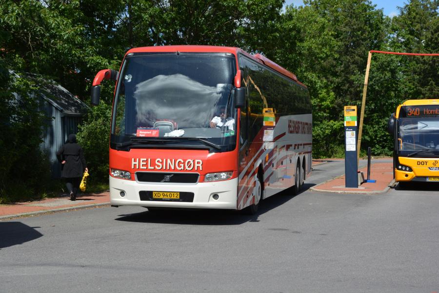 Helsingør Turisttrafik XD94012 på Espergærde Station den 26. juni 2017
