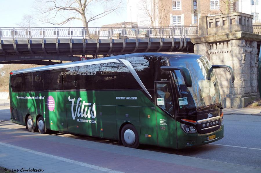 Hafnia Rejser 6/AN64280 på Helgoländer Allee i Hamburg, Tyskland den 16. februar 2019