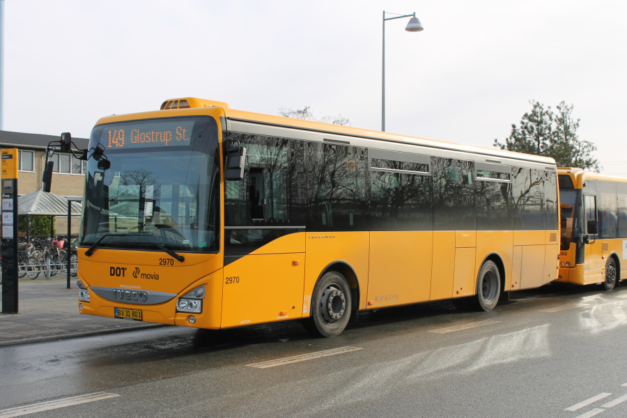 Keolis 2970/BV31803 på Albertslund Station den 13. februar 2019