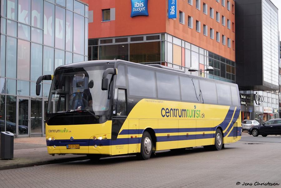 Centrum Turist BD59502 ved Flensburg ZOB i Tyskland den 9. marts 2019