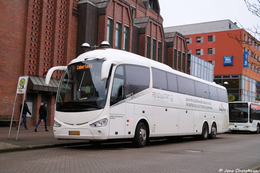 Aarhus Turistfart 7/AN65501 ved Flensburg ZOB i Tyskland den 13. Februar 2019