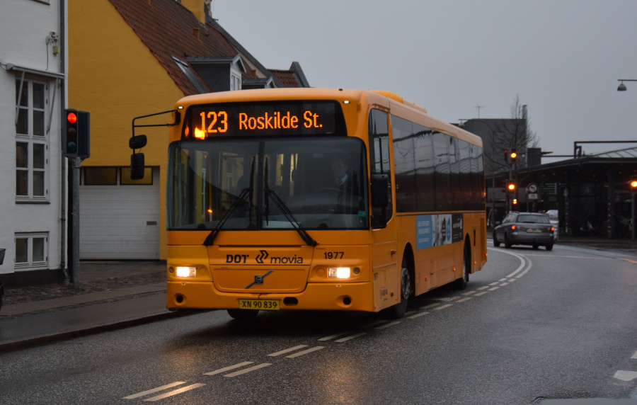 Arriva 1977/XN90839 på Jernbanegade i Roskilde den 27. december 2018