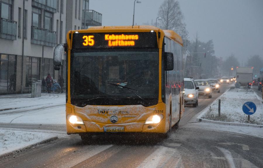 Anchersen 3314/BG83417 på Amager Landevej i Tårnby den 21. januar 2019