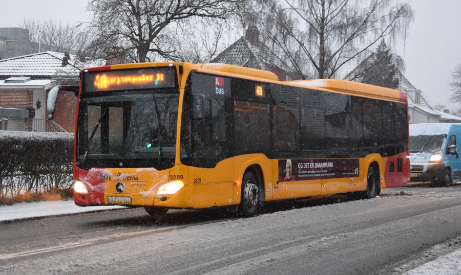 Anchersen 3289/AZ22111 på Vejlands Allé i Sundbyvester den 21. januar 2019