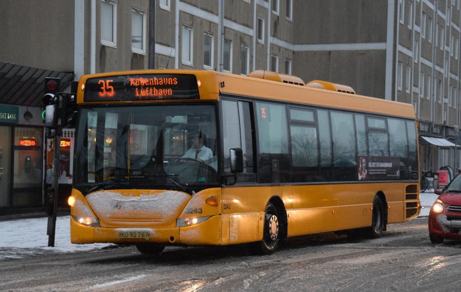 Anchersen 3243/XD92787 på Sundbyvestervej i Sundbyvester den 21. januar 2019
