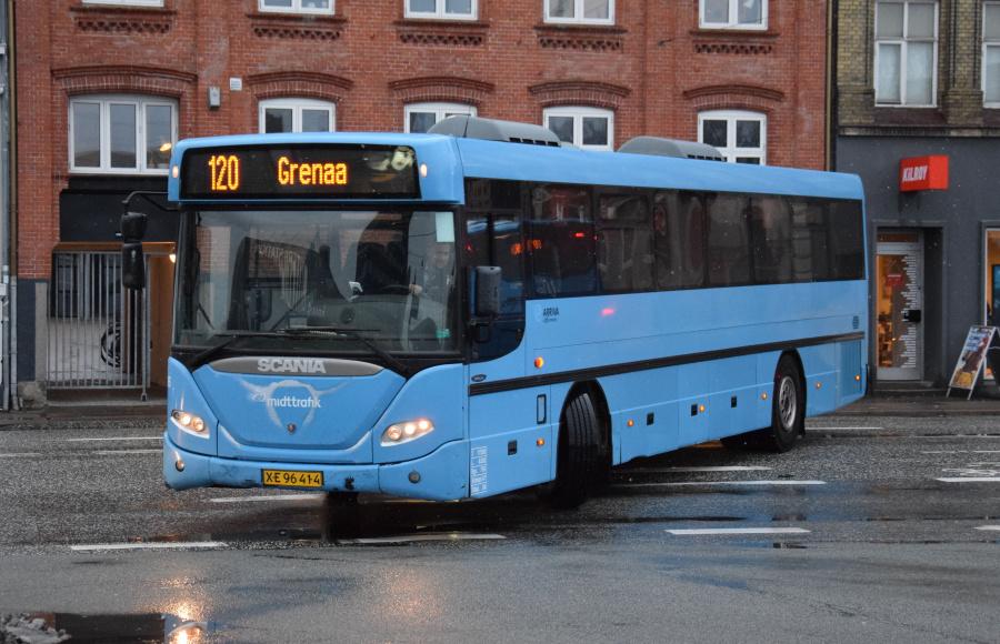 Arriva 2976/XE96414 på Århus Rtb. den 28. januar 2019
