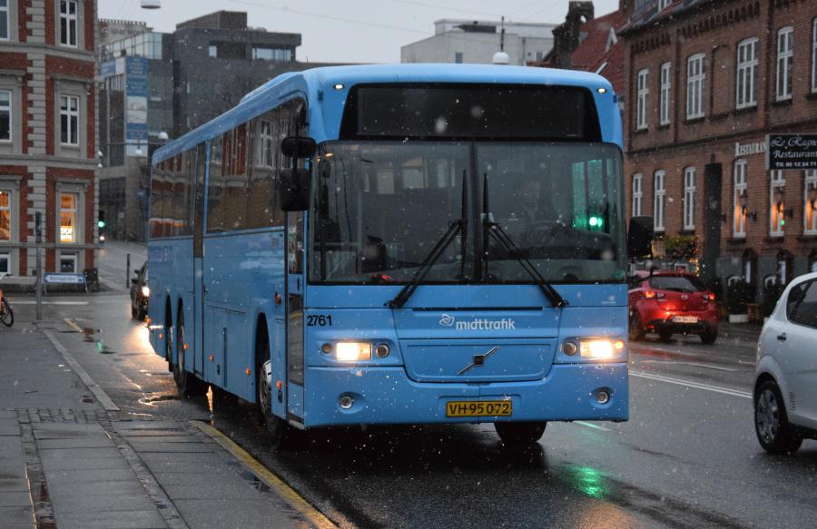 Arriva 2761/VH95072 på Sønder Allé i Århus den 28. januar 2019