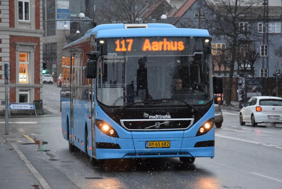 Todbjerg 607/AN65682 på Sønder Allé i Århus den 28. januar 2019