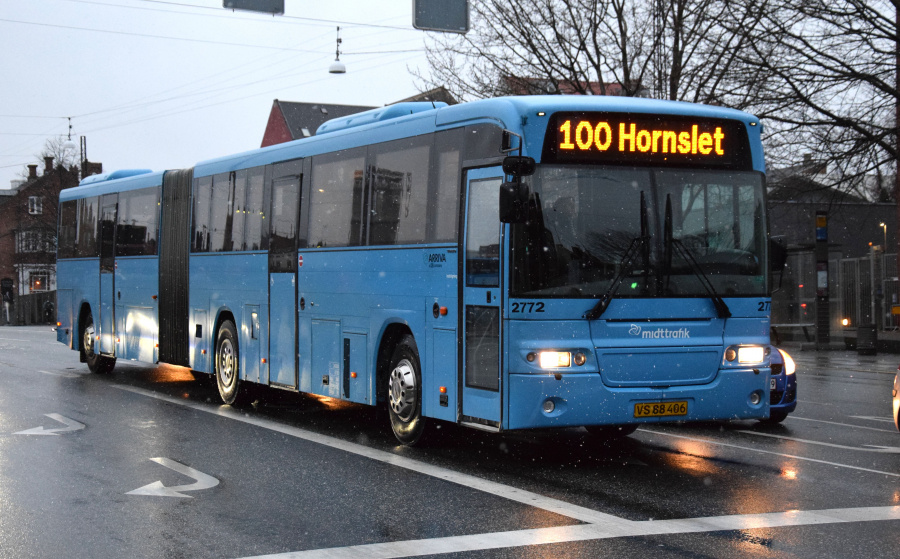 Arriva 2772/VS88406 på Sønder Allé i Århus den 28. januar 2019