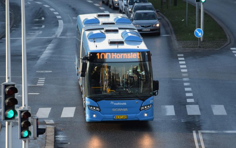 Arriva 2710/BX97469 på Europaplads i Århus den 29. januar 2019