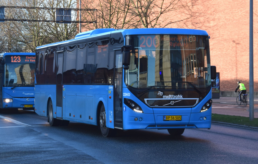 Arriva 2240/BP56505 på Dynkarken i Århus den 29. januar 2019