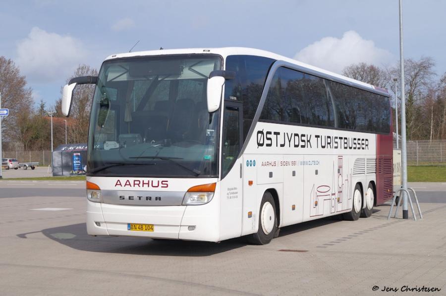 Østjydsk Mini- og Turistbusser BN48104 i Harrislee i Tyskland den 23. marts 2019