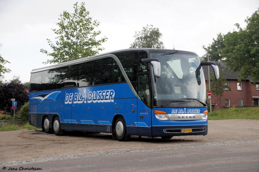 De Blå Busser AW92470 ved Exe i Flensburg, Tyskland den 16. juni 2016
