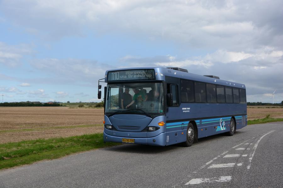 Brande Buslinier 228/RV95398 et sted i Nordjylland den 2. september 2017