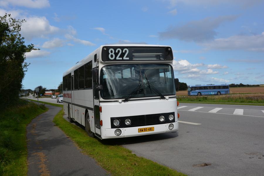 Hjørring Citybus 77/AW80481 et sted i Nordjylland den 2.september 2017