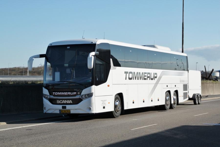 Tommerup Turistfart 38/BS20783 på Molevej i Esbjerg den 10. april 2019