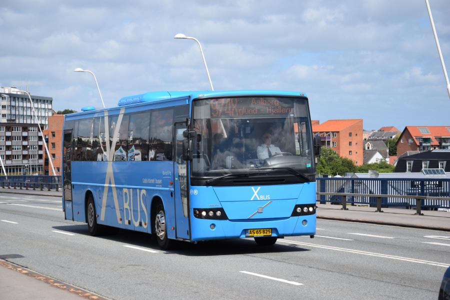Keolis 277/AS65825 på Limfjordsbroen i Nørresundby den 26. juni 2017