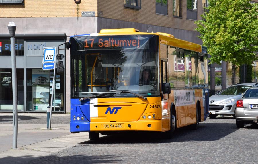 Keolis 2467/US94448 på Torvet i Nørresundby den 26. juni 2017