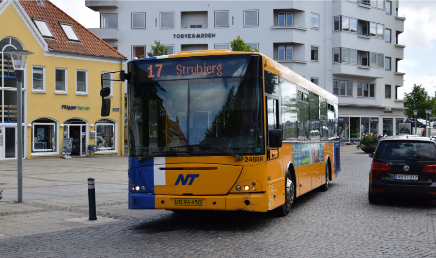 Keolis 2467/US94450 på Torvet i Nørresundby den 26. juni 2017
