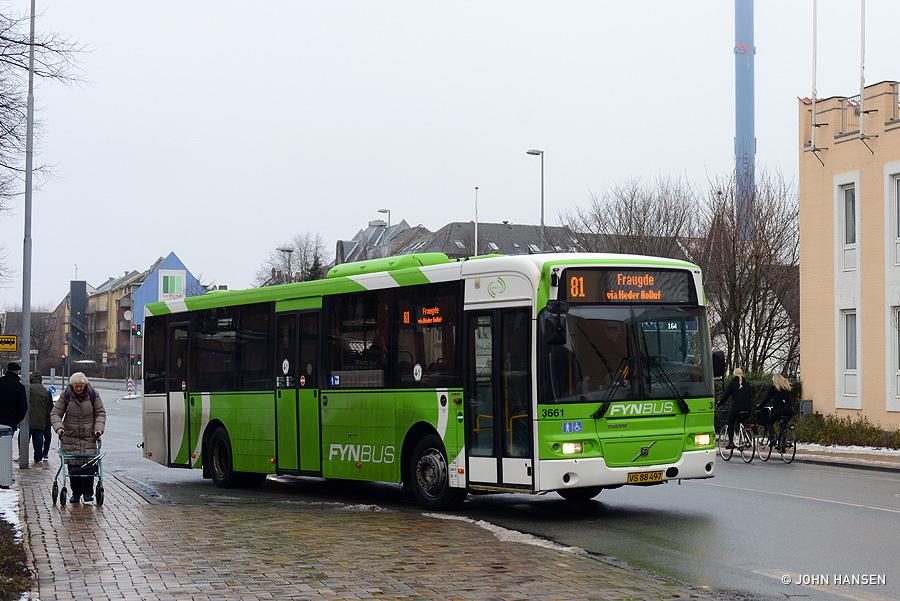 Keolis 3661/VS88497 på Hans Mules Gade i Odense den 26. januar 2019