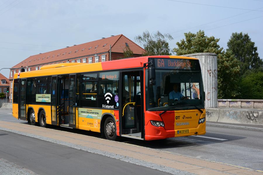 Arriva 1206/AK37672 ved Ålholm Station i Valby den 17. august 2017