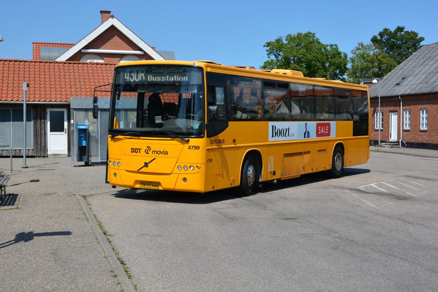 Ditobus 4799/TN93444 ved Høng Station den 15. juli 2017