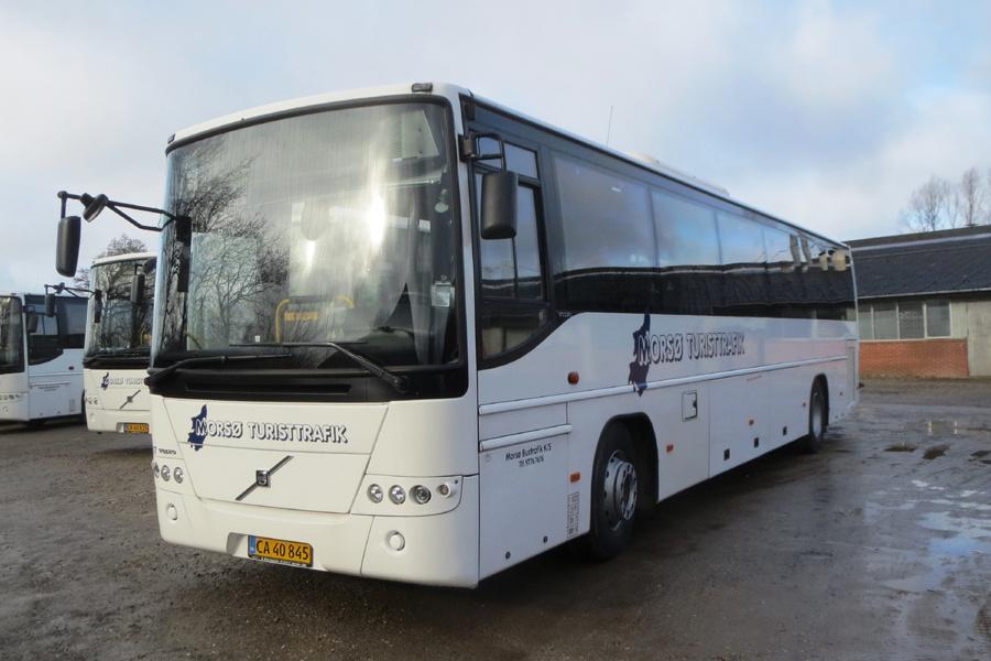 Morsø Bustrafik 57/CA40845 i Nykøbing Mors den 19. februar 2019