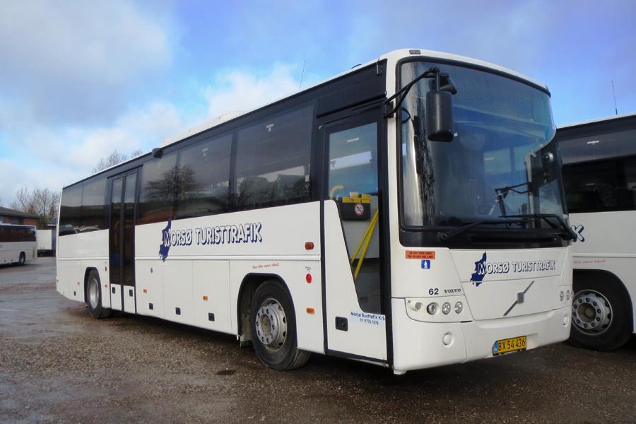Morsø Bustrafik 62/BX54436 i Nykøbing Mors den 19. februar 2019