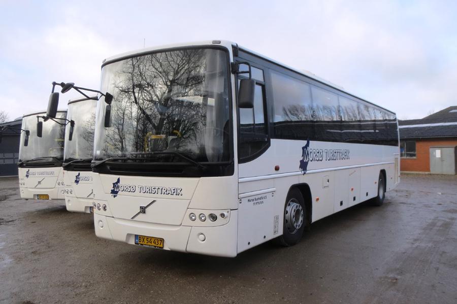 Morsø Bustrafik 67/BX54437 i Nykøbing Mors den 19. februar 2019