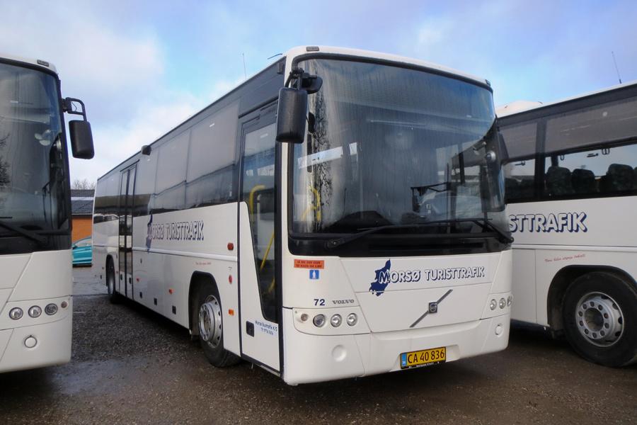 Morsø Bustrafik 72/CA40836 i Nykøbing Mors den 19. februar 2019