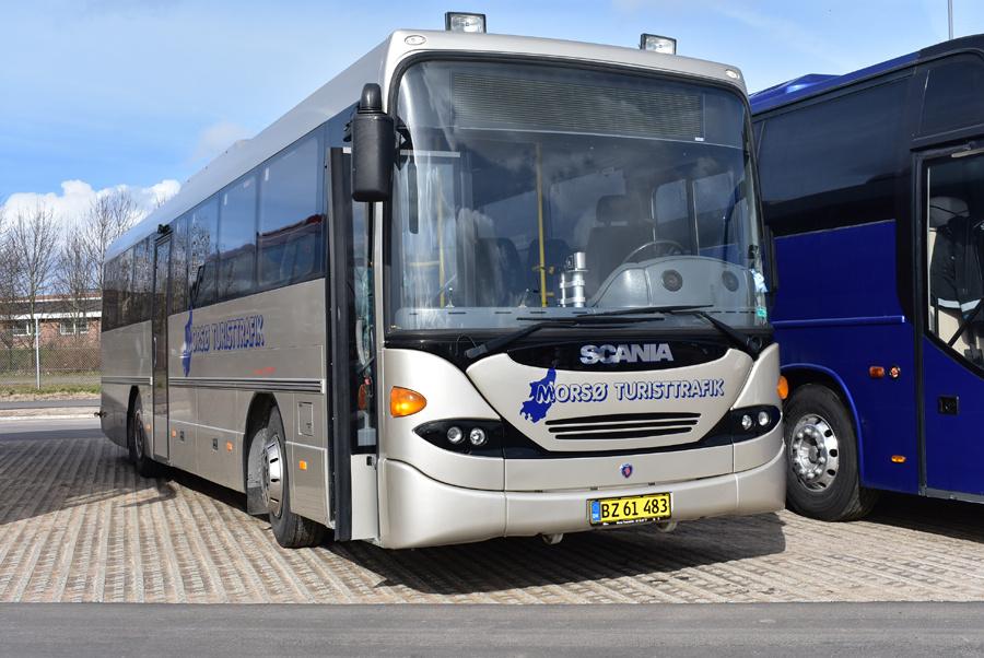 Morsø Turisttrafik BZ61483 ved Messecenter Herning den 23. marts 2019