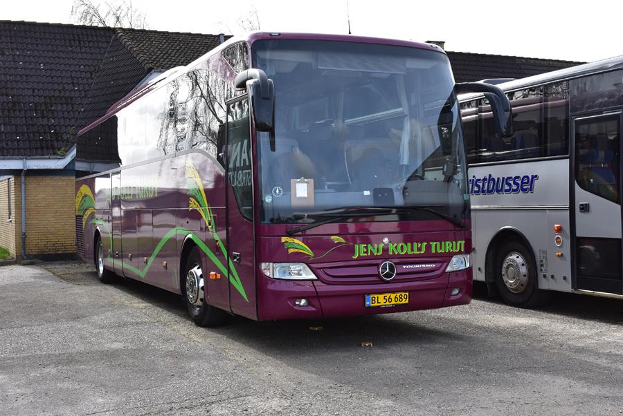 Jens Kolls Turist BL56689 ved Messecenter Herning den 23. marts 2019